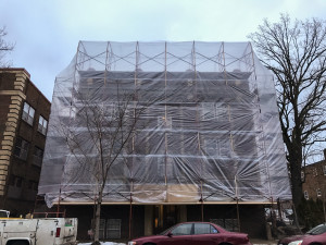 winter brick repair
